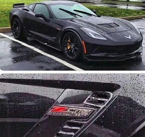 [PIC] A Black 2015 Corvette Z06 in the Wet!
