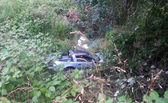 [ACCIDENT] Teen Driving a 1985 Corvette Ends Up in a Oregon Ditch