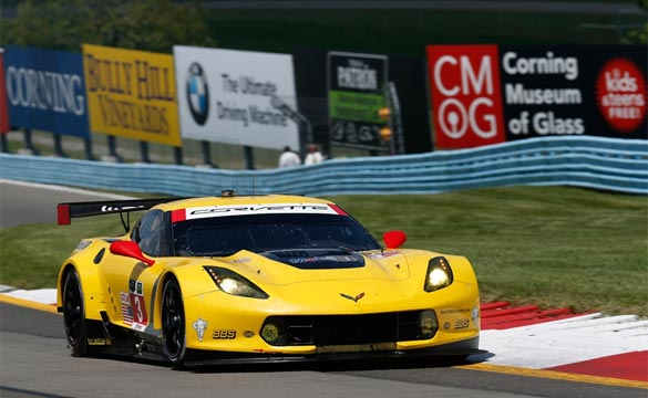 Corvette Racing at Watkins Glen: Magnussen Qualifies Second in No. 3 C7.R