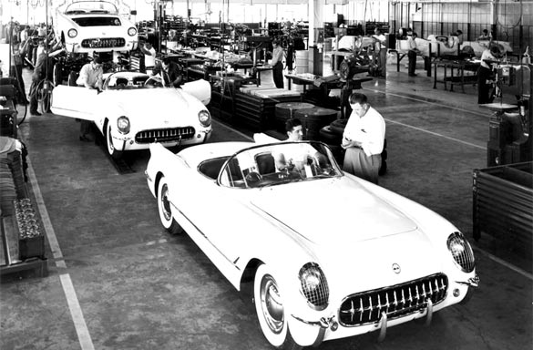 Happy Birthday Corvette! America's Favorite Sports Car Celebrates its 61st Birthday Today!