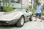 Chevrolet Reunites Detroit Man with His Stolen 1979 Corvette