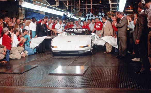 Today in Corvette History: The One Millionth Corvette is Built
