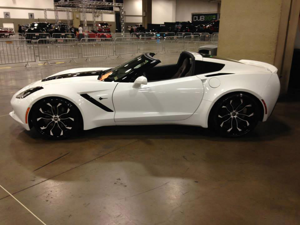 Corvettes on eBay 2014 Forgiato Corvette Stingray Widebody in