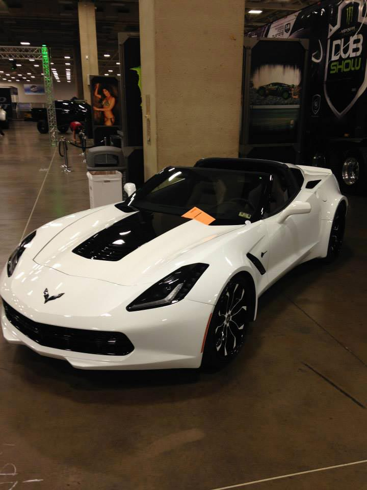 Corvettes On Ebay 2014 Forgiato Corvette Stingray