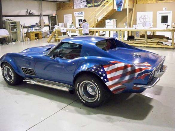 Patriotic Corvettes for the 4th of July!
