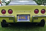 Corvette Vanity Plates from Bloomington Gold 2014