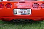 Corvette Vanity Plates from Bloomington Gold 2014