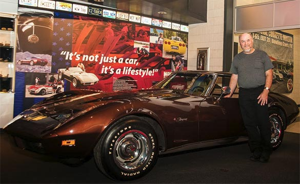Massachusetts Man Donates 1974 Corvette He's Owned Since New to the Corvette Museum