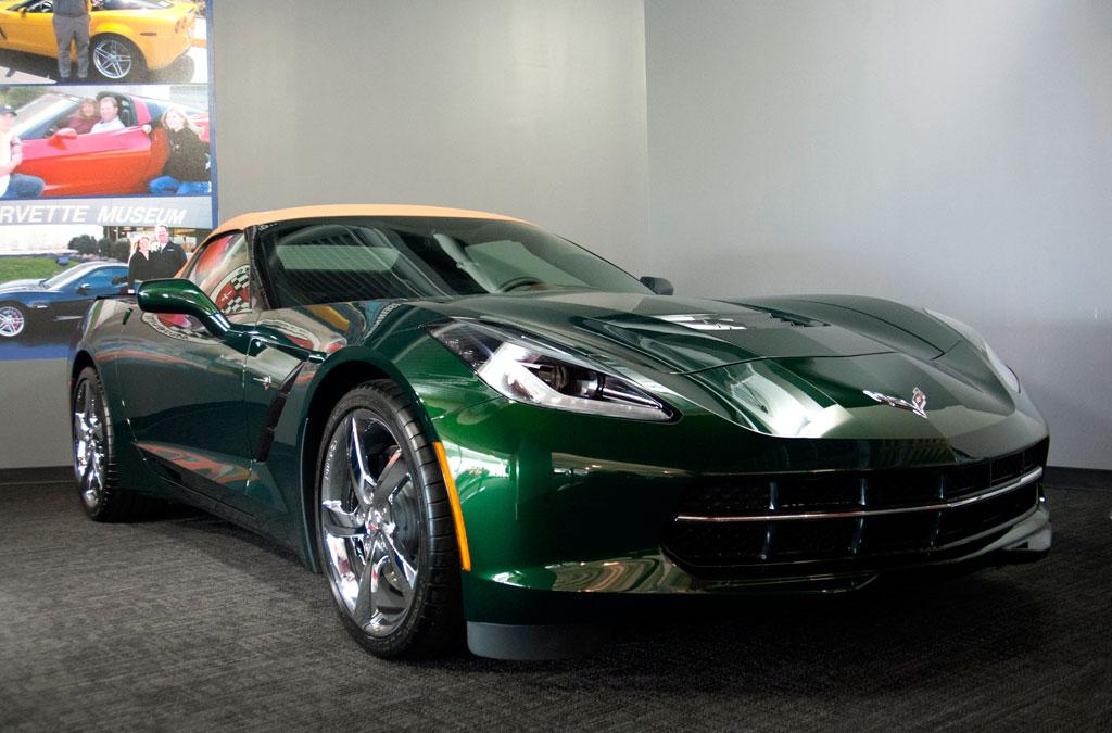 corvette museum to raffle the last 2014 corvette stingray premiere. Cars Review. Best American Auto & Cars Review