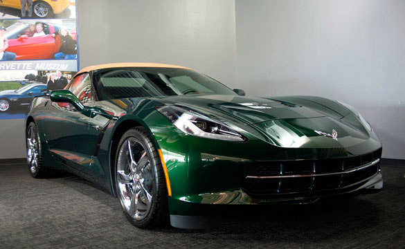 Corvette Museum to Raffle the Last 2014 Corvette Stingray Premiere Convertible Built