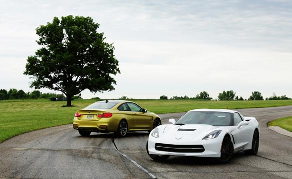 [VIDEO] Automobile Magazine tests the BMW M4 vs the 2014 Corvette Stingray