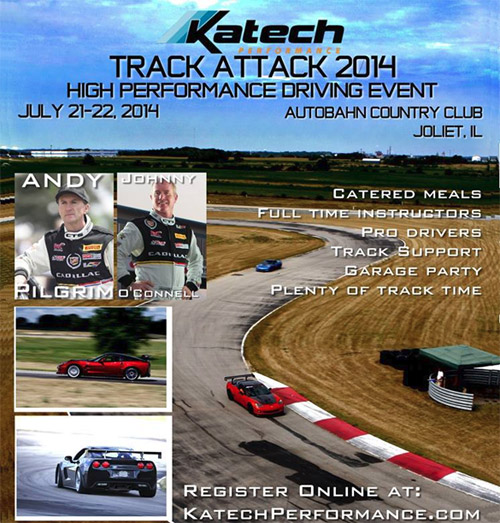 Katech Performance to host Track Attack 2014 at Autobahn Country Club