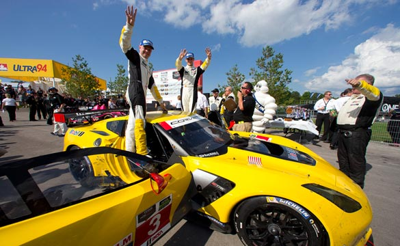 Jan Magnussen and Antonio Garcia make it four in a row.