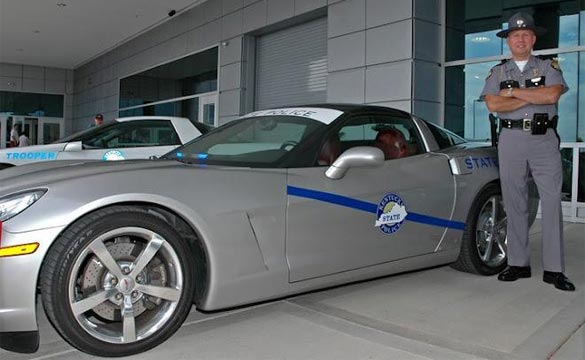 Corvette Museum Wants to Turn Your C7 Corvette Stingray into a Police Car for 20th Anniversary Caravan