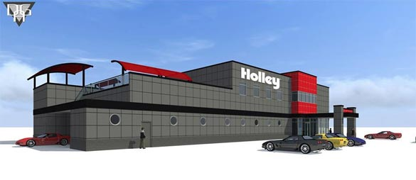 Holley Performance Products Becomes a Sponsor of the NCM Motorsports Park