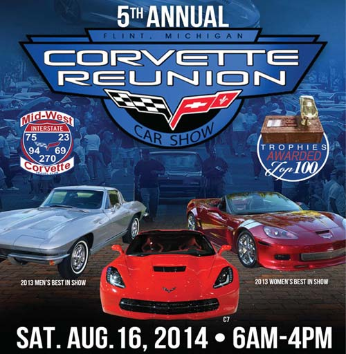 Plans In Place for Flint's Mega Corvette Reunion