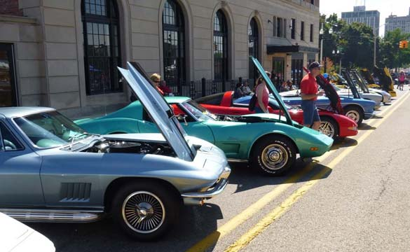 Corvettes at the 2013 Corvette Reunion