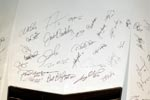 Chevrolet auctioning a Corvette Stingray with autographs from MLB's All-Stars.