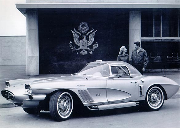 Bill Mitchell's XP-700 Corvette Concept