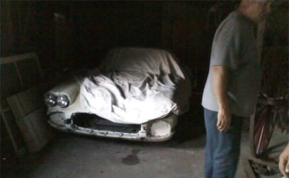 1960 Corvette Rescued from Chicken Coop