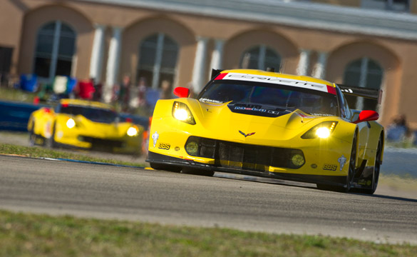 Corvette Racing at Indian