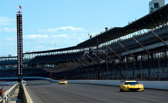 Corvette Racing at Indianapolis: Garcia Qualifies Sixth in GTLM
