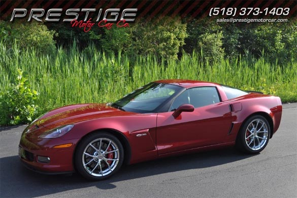 2010 Crystal Red Corvette Z06
