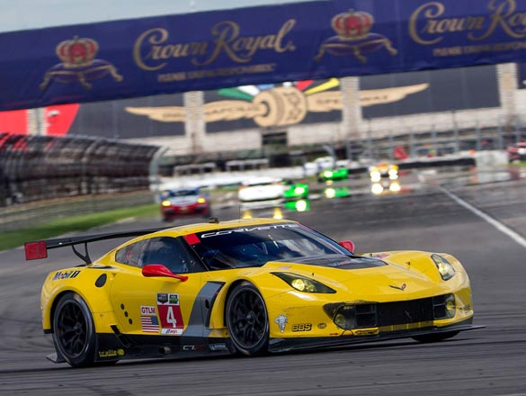 Corvette Racing at Indianapolis: Corvette C7.Rs place fourth and fifth in GTLM