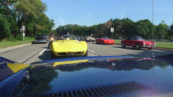 Michigan's Fantasy Week for Corvette Enthusiasts