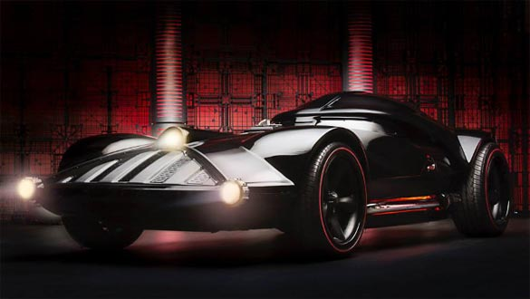 Hot Wheels and Star Wars Introduce New Series with a Life-Sized Darth Vader