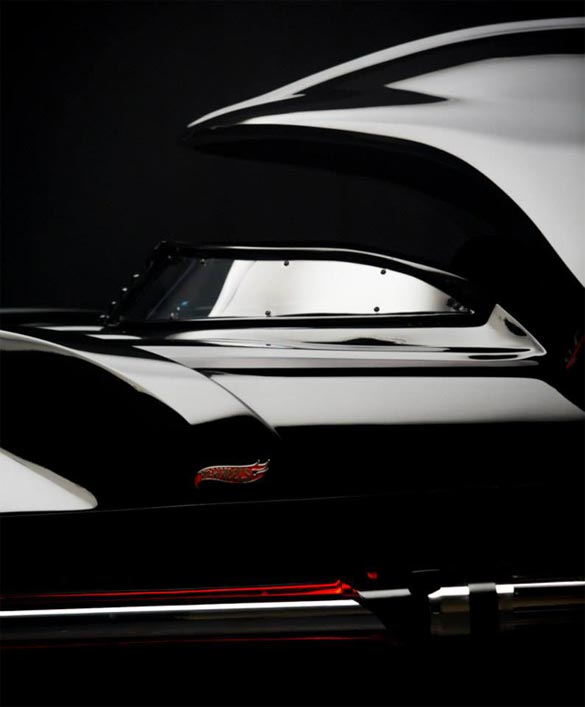 Hot Wheels and Star Wars Introduce New Series with a Life-Sized Darth Vader Corvette border=