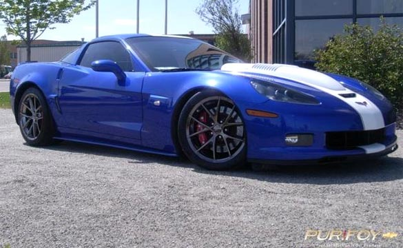 2009 Chevrolet Corvette Z06 Callaway Custom P-Series