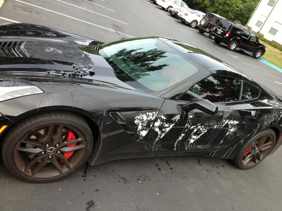 Corvette paint stripper