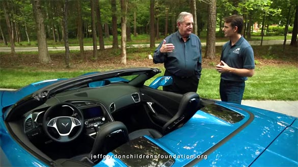 [VIDEO] Jeff Gordon and Former Chevrolet GM Jim Perkins Discuss the C7 Corvette Stingray