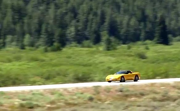 [VIDEO] 81 Year Old Road Rally Driver Tops 166 MPH in her C5 Corvette