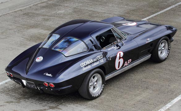 Paul Reinhart's 1963 Corvette Z06 to be Auctioned at Mecum Monterey