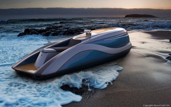 The Corvette-Powered Strand Craft V8 Wet Rod Jet Ski