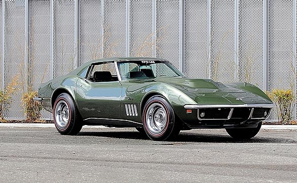 Low Mile 1969 L88 Corvette Heading to Mecum Monterey