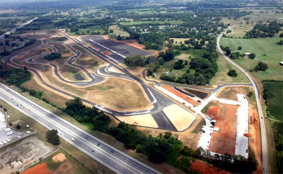 Corvette Central to Sponsor the Corvette Museum's Motorsports Park