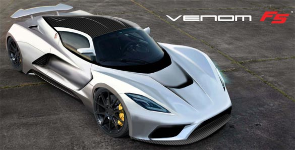 Corvette Power! Hennessey's Venom F5 Shooting for 290 MPH!