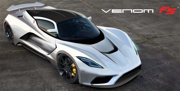 Corvette Power! Hennessey's Venom F5 Shooting for 290 MPH!