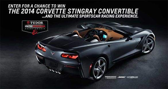 The Race to Win a Corvette Stingray Sweepstakes Closes Tuesday