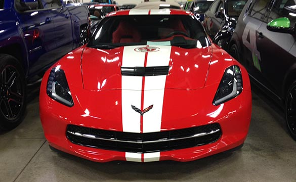 The Corvette Museum's 20th Anniversary Corvette Raffle Cars