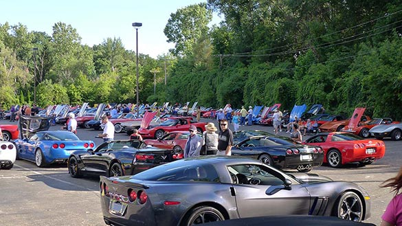 [PICS] The 2014 Corvettes on Woodward Food Drive