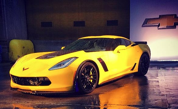 2015 Corvette Z06 Coupe's Curb Weight is Confirmed at 3,524 pounds
