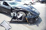 Black C7 Corvette on Forgelines Is Latest Crash Victim