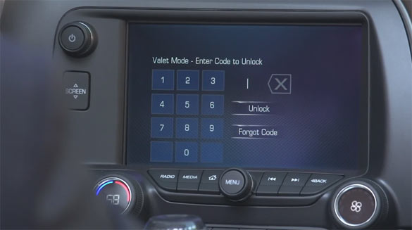 Valet Mode with Performance Data Recorder Coming to 2015 Corvettes