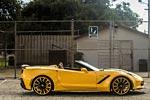 Forgiato Widebody Corvette Stingray Convertible in Yellow