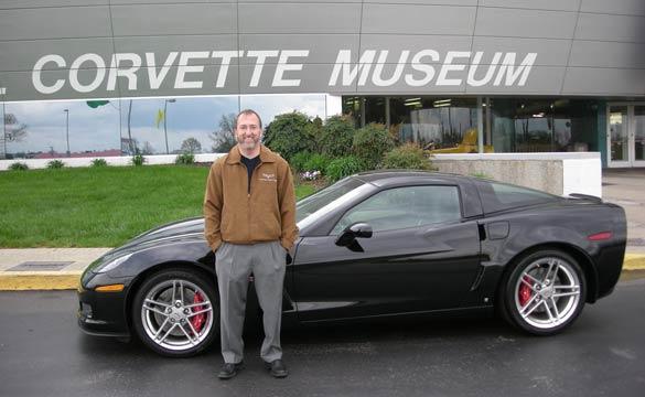 Corvette Enthusiast Ed Glazer Sponsors the Corvette Museum's Motorsports Park Skid Pad