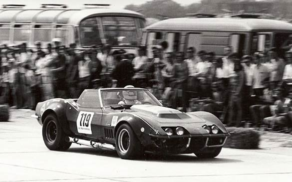 Tony DeLorenzo Triple Black 1969 L88 Corvettes